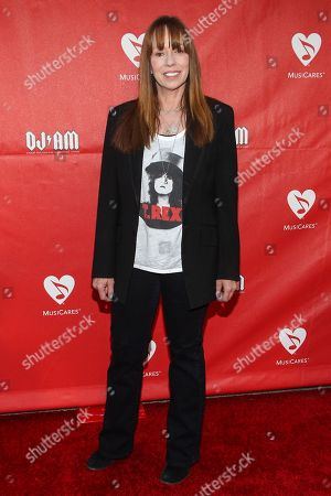 Mackenzie Phillips attends the 10th annual MusiCares MAP Fund Benefit Concert at Club Nokia on in Los Angeles