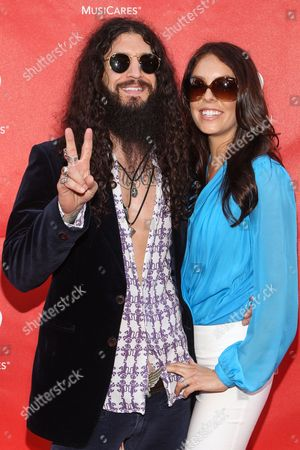 Tommy Clufetos and Casey Clufetos attend the 10th annual MusiCares MAP Fund Benefit Concert at Club Nokia on in Los Angeles