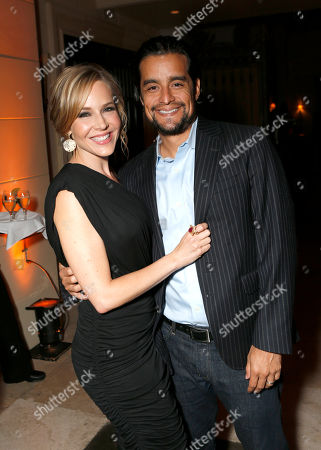 Julie Benz and Rich Orosco attend the 13th Annual InStyle and the Hollywood Foreign Press Association's Toronto International Film Festival Party on
