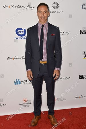 Steve Nash arrives at the 15th Annual Harold and Carole Pump Foundation Gala held at the Hyatt Regency Century Plaza, in Los Angeles
