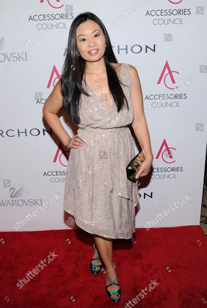Alex Woo attends the 16th annual ACE awards hosted by the Accessories Council at Cipriani 42nd Street on in New York