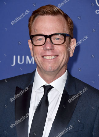 Christopher Lawrence arrives at the 18th annual Costume Designers Guild Awards at the Beverly Hilton hotel, in Beverly Hills, Calif