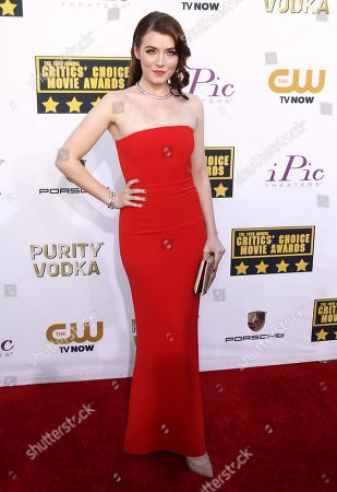 Editorial photo of 19th Annual Critics' Choice Movie Awards - Arrivals, Santa Monica, USA - 16 Jan 2014