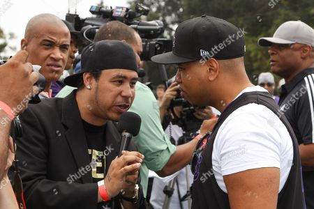 Stock Photo of Actor Omar Gooding attends the 1st Annual Athletes vs. Cancer Celebrity Flag Football game at the Palisades High School on in Pacific Palisades, Calif