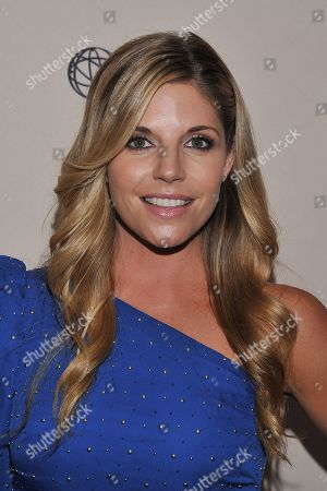 BEVERLY HILLS, CA - JUNE 16: Actress Andrea Bogart attends a cocktail party presented by the Academy of Television Arts & Sciences' Daytime Programming Peer Group, in celebration of the 2011 Daytime Emmy Awards Nominees at the SLS Hotel at Beverly Hills on in Beverly Hills, California