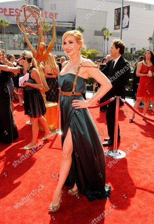 LOS ANGELES, CA - SEPTEMBER 10: Kari Byron attends the Academy of Television Arts & Sciences 2011 Primetime Creative Arts Emmy Awards at the Nokia Theater L.A. Live on in Los Angeles, California