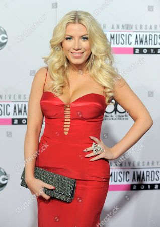 Grace Valerie arrives at the 40th Anniversary American Music Awards, in Los Angeles