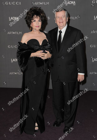 Carole Bayer Sager, left and Bob Daly arrive at the 2012 ART + FILM GALA hosted by LACMA, in Los Angeles