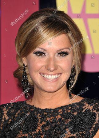 Ali Dee arrives at the 2012 CMT Music Awards on in Nashville, Tenn