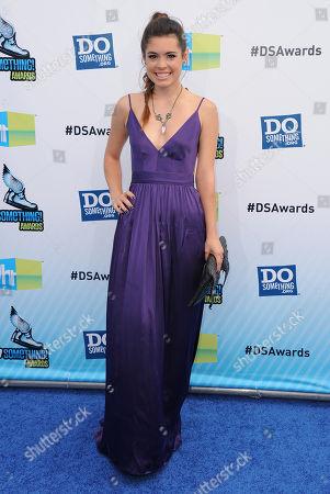 Alex Frnka attends the 2012 Do Something awards on in Santa Monica, Calif