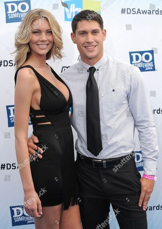 Talon Smith, right, attends the 2012 Do Something awards on in Santa Monica, Calif