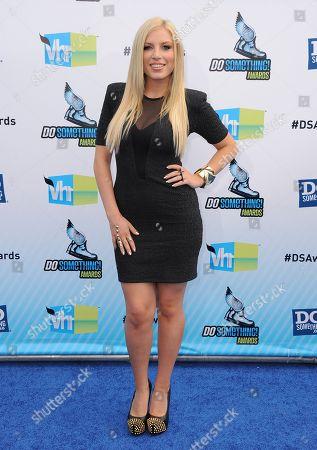 Grace Valerie attends the 2012 Do Something awards on in Santa Monica, Calif