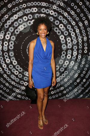 Actress Cherise Boothe arrives during the 2012 LA Stage Alliance Ovation Awards ceremony held at the Los Angeles Theatre, in Los Angeles, Calif