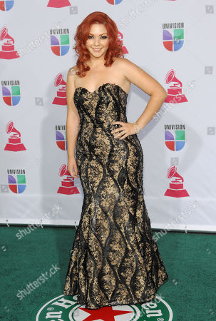 Stock Picture of Marilyn Odessa arrives at the 13th Annual Latin Grammy Awards at Mandalay Bay, in Las Vegas