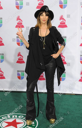 Editorial photo of 2012 Latin Grammy Awards Arrivals, Las Vegas, USA - 15 Nov 2012
