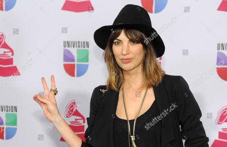 Deborah de Corral arrives at the 13th Annual Latin Grammy Awards at Mandalay Bay, in Las Vegas