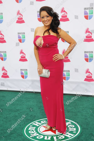 Stock Picture of Dawn Diaz arrives at the 13th Annual Latin Grammy Awards at Mandalay Bay, in Las Vegas