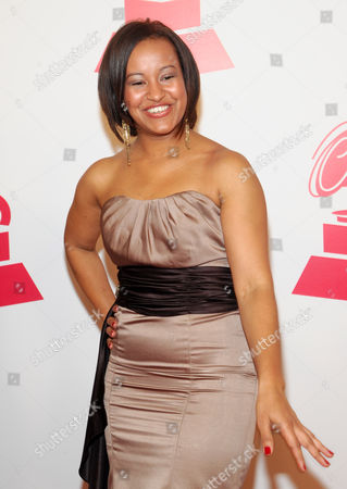 Stock Image of Rossmery Gomez arrives at the 2012 Latin Recording Academy Person of the Year Tribute to Caetano Veloso at the MGM Grand Garden Arena, in Las Vegas