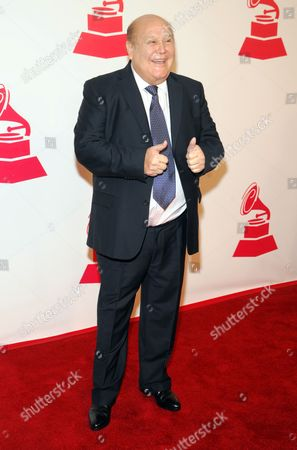 Stock Picture of Leo Dan arrives at the 2012 Latin Recording Academy Person of the Year Tribute to Caetano Veloso at the MGM Grand Garden Arena, in Las Vegas