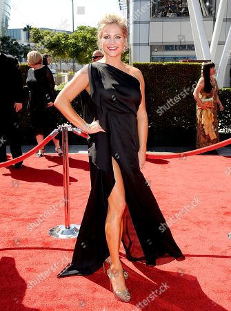 SEPTEMBER 15: Stacey Tookey arrives at the Academy of Television Arts & Sciences 64th Primetime Creative Arts Emmy Awards at Nokia Theatre L.A. Live on in Los Angeles, California