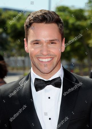 Stock Photo of SEPTEMBER 15: Nick Lazzarini arrives at the Academy of Television Arts & Sciences 64th Primetime Creative Arts Emmy Awards at Nokia Theatre L.A. Live on in Los Angeles, California