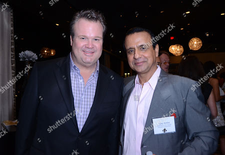 UNIVERSAL CITY, CA - AUGUST 20: (L-R) Actor Eric Stonestreet and Television Academy Peer Group Committee Executive Ajay Mehta attend the Academy of Television Arts & Sciences 2012 Performers Peer Group Reception at the Sheraton Universal Hotel on in Universal City, California