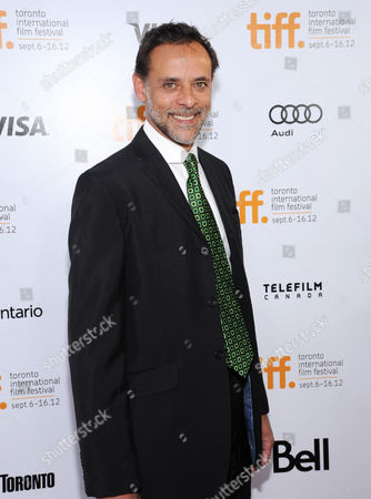 "Actor Alexander Siddig arrives at the premiere for ""Inescapable"" during the Toronto International Film Festival on in Toronto"