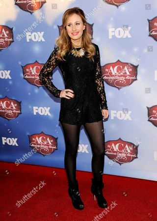Jessi Alexander arrives at the American Country Awards at the Mandalay Bay Resort & Casino, in Las Vegas, Nev