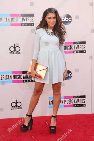 Stock Picture of Taylor Bright arrives at the 2013 American Music Awards, on in Los Angeles