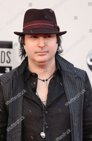 Kevin Rudolf arrives at the 2013 American Music Awards, on in Los Angeles