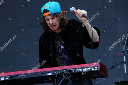 Sam France and Foxygen performs on day 3 of the 2013 Austin City Limits Music Festival at Zilker Park on in Austin Texas
