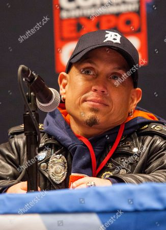 Actor Martin Klebba attends the Pirates of the Caribbean panel at the Chicago Comic & Entertainment Expo at McCormick Place, in Chicago