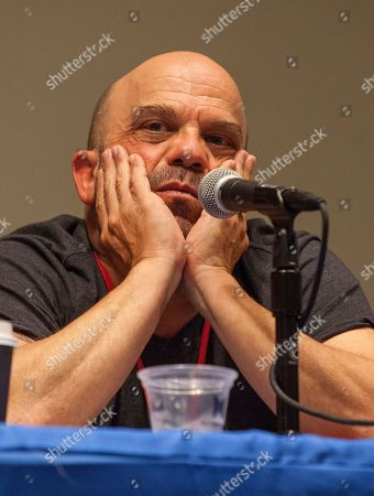 Actor Lee Arenberg attends the Pirates of the Caribbean panel at the Chicago Comic & Entertainment Expo at McCormick Place, in Chicago