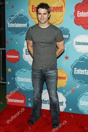 Actor Sam Witwer arrives at the EW party on Day 4 of the 2013 Comic-Con International Convention on in San Diego