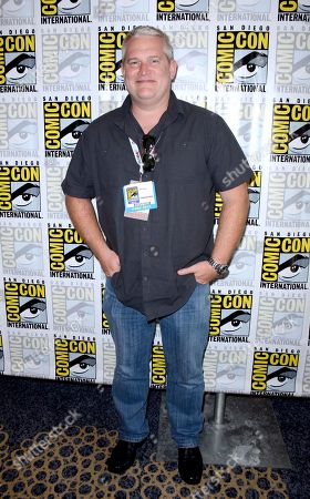 "Director/writer Adam Reed attends the FX ""Archer"" press room on Day 3 of Comic-Con International on in San Diego, Calif"