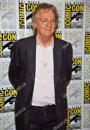 """Michael Hirst attends the """"Vikings"""" panel on Day 3 of Comic-Con International on in San Diego"""
