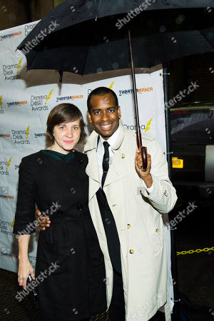 Stock Photo of Daniel Breaker and Kate Whoriskey attend the 2013 Drama Desk Awards on in New York