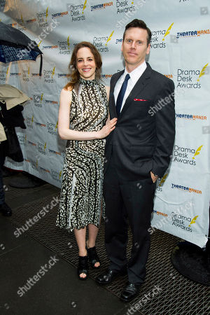 Maria Dizzia and Will Eno attend the 2013 Drama Desk Awards on in New York