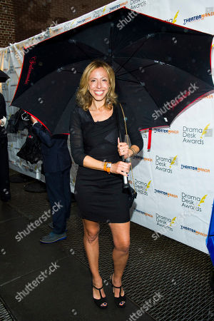 Amanda Green attends the 2013 Drama Desk Awards on in New York