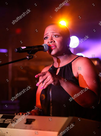 Avery Sunshine performs at the Essence Festival at the Superdome, in New Orleans