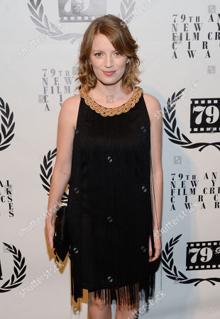 Sarah Polley attends the 79th Annual New York Film Critics Circle Awards at the Edison Ballroom on in New York