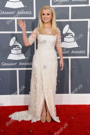 Editorial picture of 2013 Grammy Awards Arrivals, Los Angeles, USA - 10 Feb 2013