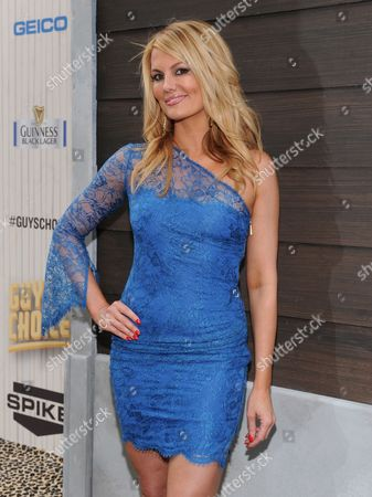 Courtney Hansen arrives at Spike TV's Guys Choice Awards at Sony Pictures Studios, in Culver City, Calif