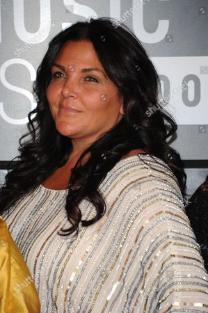 Karen Gravano arrives at the MTV Video Music Awards, at the Barclays Center in the Brooklyn borough of New York