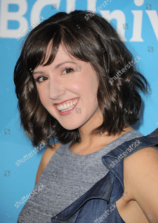 """Kelly Vrooman of """"The Chica Show"""" arrives at the 2013 NBCUniversal Summer Press Day at The Langham Huntington Hotel and Spa on in Pasadena, Calif"""