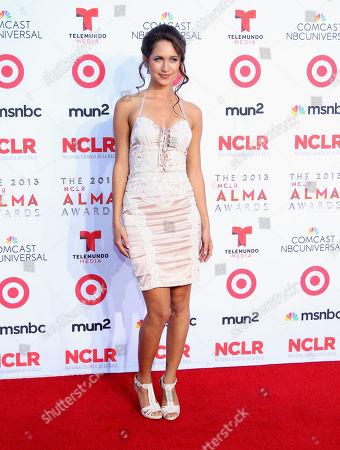 Maiara Walsh arrives at the NCLR ALMA Awards at the Pasadena Civic Auditorium, in Pasadena, Calif