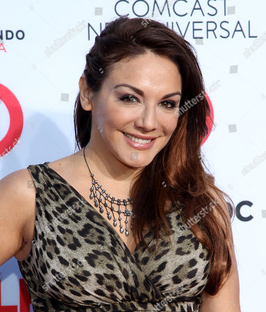 Stock Photo of Jill-Michele Melean arrives at the NCLR ALMA Awards at the Pasadena Civic Auditorium, in Pasadena, Calif