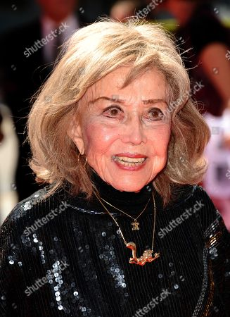 June Foray arrives at the 2013 Primetime Creative Arts Emmy Awards, on at Nokia Theatre L.A. Live, in Los Angeles, Calif