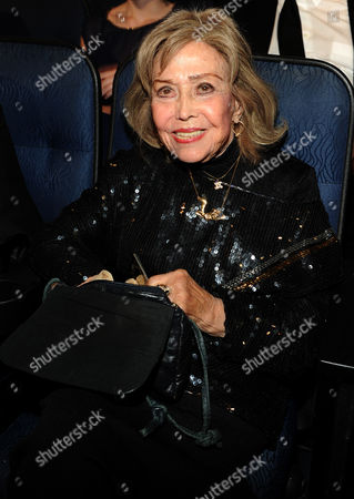 EXCLUSIVE - June Foray attends the 2013 Primetime Creative Arts Emmy Awards, on at Nokia Theatre L.A. Live, in Los Angeles, Calif