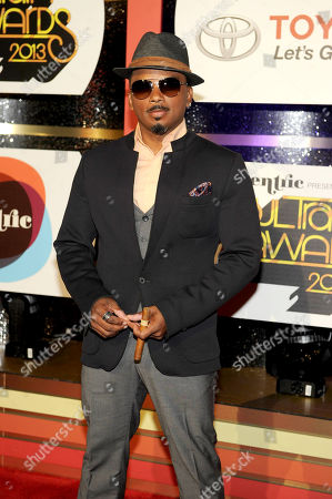 Stock Image of Actor Carl Payne arrives at the 2013 Soul Train Awards at the Orleans Arena on in Las Vegas
